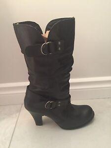 Aldo black boot size 40