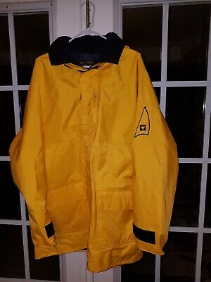 2440 Huk Commercial Grade PVC Waterproof Foul Weather Jacket Yellow Size XL
