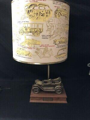 VINTAGE CHEVROLET DEALER AWARD LAMP-ONE OWNER