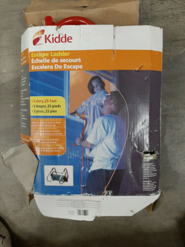 Kidde Three Story Fire Escape Ladder with Anti-Slip Rungs