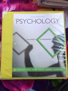 Psychology: From inquiry to understanding - 2ND ED.