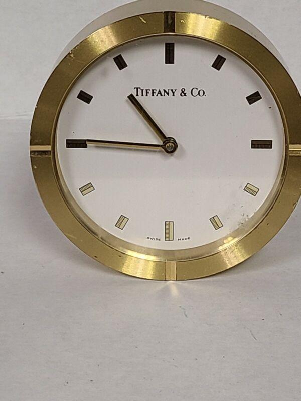 Beautiful  Tiffany & Co Table Clock
