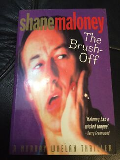The Brush Off by Shane Maloney. Nic's books