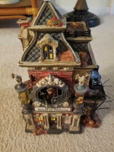 Dept 56 Halloween Grimsly s House Of Oddities 799935 - $65.00