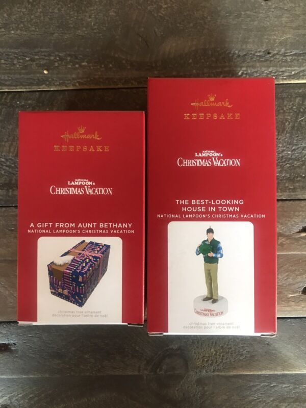 NIB, 2021 Hallmark Ornaments National Lampoon's Christmas Vacation  Set