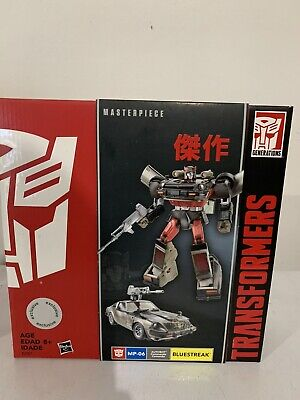 Transformers Masterpiece Bluestreak MP-06 Toys R Us Exclusive TRU MISB Hasbro
