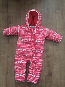 Girls 18 month infant one piece snow suit