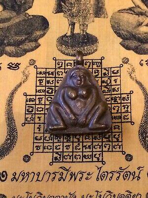 Unusual Fertility Amulet Pendant, Double Sided Pendant Of Naked Man & Women