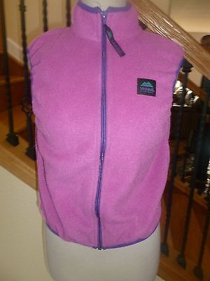 MOLEHILL Mt Equipment Girls FLEECE Vest sz 8-10 Kids