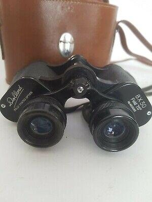 Vintage Dollond 8 x 30 Binoculars & Case