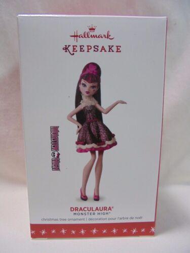 2016 Hallmark Keepsake Ornament Draculaura Monster High B6