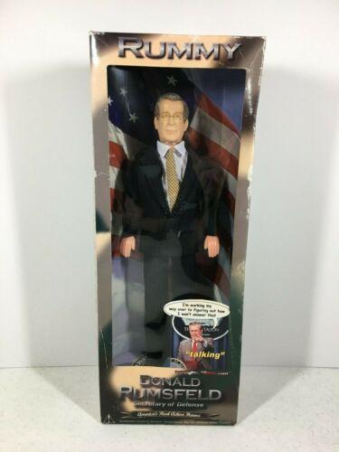 Talking Presidents Donald Rumsfeld 12 Inch Doll