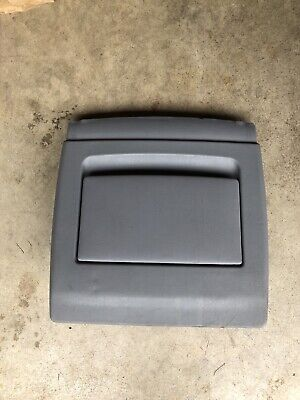 BMW E38 E39 5 7 SERIES LEFT OR RIGHT COMFORT SEAT BACK COVER FLAP POCKET GREY