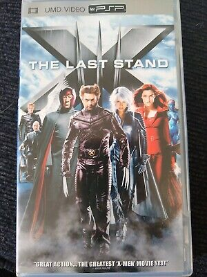 Sony PSP - X-Men the Last Stand SONY UMD MOVIE FOR PSP PlayStation Portable! ⭐️