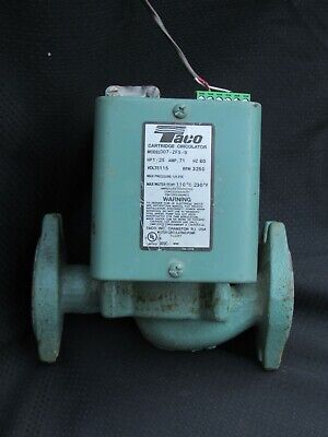 Taco 007-zf5-9 Cast Iron Series 007 Thermostat Controlled 115v Circulator Pump