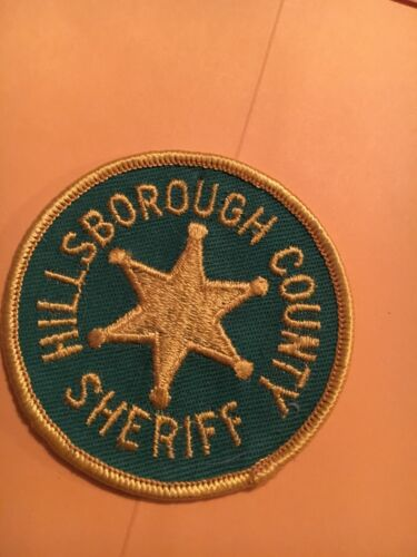 Hillsborough County Sheriff New Hampshire Vintage Police Patch version 1