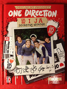 ONE DIRECTION 1D - SECRET DIARY - 52 STICKERS INSIDE - OFFICIAL PRODUCT - <span itemprop='availableAtOrFrom'>Gdynia, Polska</span> - ONE DIRECTION 1D - SECRET DIARY - 52 STICKERS INSIDE - OFFICIAL PRODUCT - Gdynia, Polska