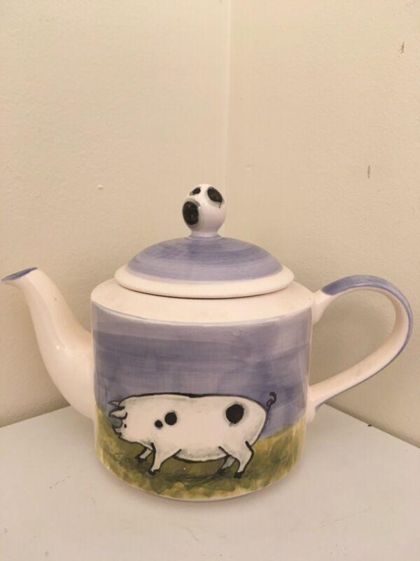 Decorative Pig Teapot