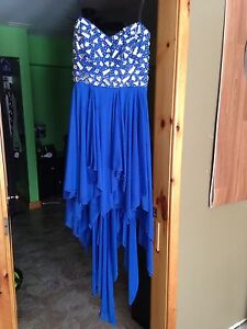 Prom Dress size 11/12. Short excellent condition