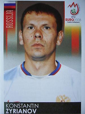 PANINI 452 KONSTANTIN ZYRIANOV RUSSLAND UEFA EURO 2008 AUSTRIA SWITZERLAND