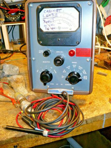 Repair Services:  HP 410B VTVM