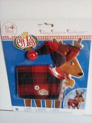 Elf on the Shelf Pets FA LA LA REINDEER PAJAMAS Claus Couture Red Plaid