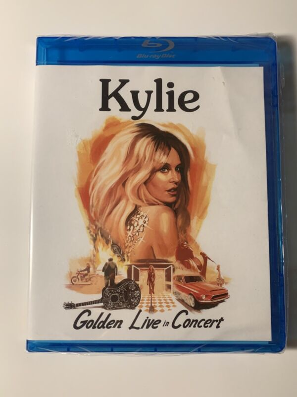 Kylie Minogue - Golden Live In Concert - On Blu-ray - Brand New & Sealed WHITE