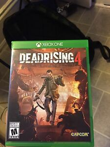 Dead Rising 4 Brand NEW Only player once !