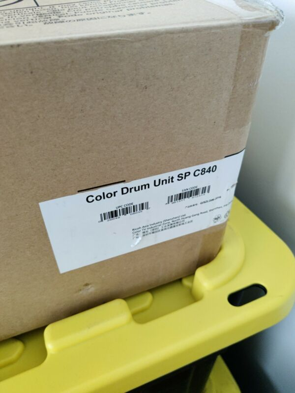 Ricoh 408035 SP C840 Color Drum Unit,Blue/purple/yellow open box