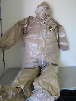 KAPPLER System CPF 3 Hazmat Protective Suit / Coverall, Size Large