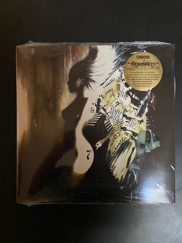 Atmosphere Headshots: Se7en Rhymesayers 2005 Vinyl Record Slug Ant SEALED NEW