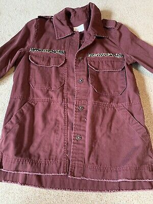 Maroon Womens Jacket Small