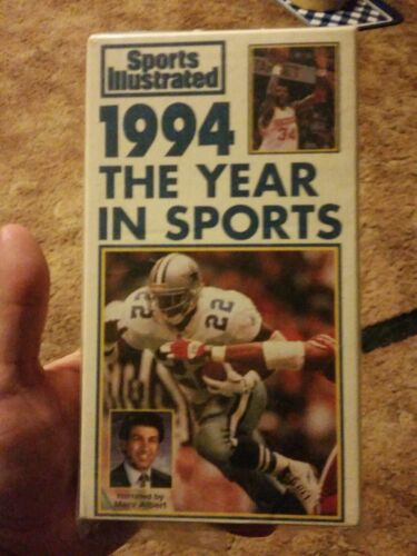 Sports Illustrated 1994 The Year In Sports VHS  - $2.00