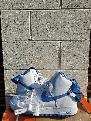DS NEW 2001 UNC  Carolina Nike Air Force One High SZ 13  YEEZY JORDAN  1 Sheed  Nike Air Force 1 Jordans