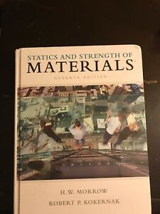 Statistics and strength of materials 7th edition