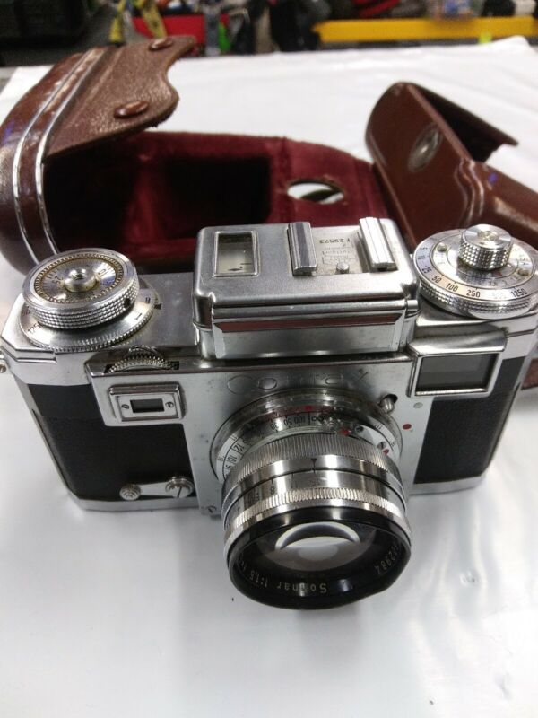 Contax Rangefinder camera by Zeiss Ikon with 50mm lens
