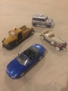 Diecast 1:24th scale cars, prices vary