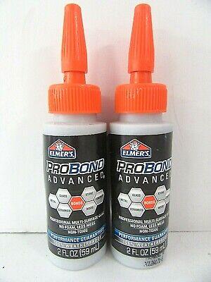 2-pack Elmers E7501 Probond 2oz Advanced Wood Stone Interior Exterior Glue