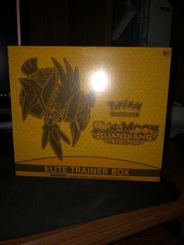 Pokemon Sun And Moon Guardians Rising Elite Trainer Box