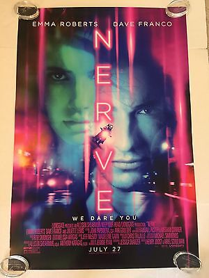 Nerve Original Theater Movie Poster One Sheet Ds 27X40