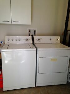 Kenmore 90 Series Super Capacity Plus Washer and Dryer
