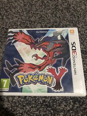 Pokemon Y (3DS, 2013) BOX ONLY