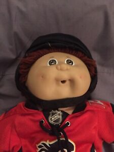 Calgary Flames Cabbage Patch Doll