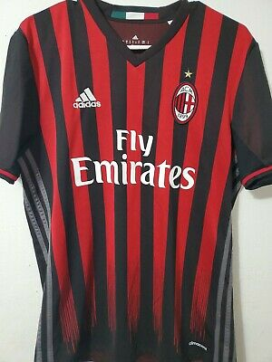 Adidas AC Milan Football Soccer Jersey Sz Men's Medium