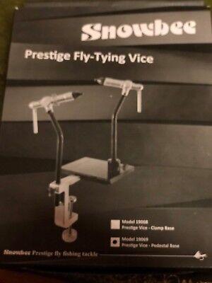 Snowbee Prestige Pro Dressers Rotary Pedestal Fly Tying Vice & Case