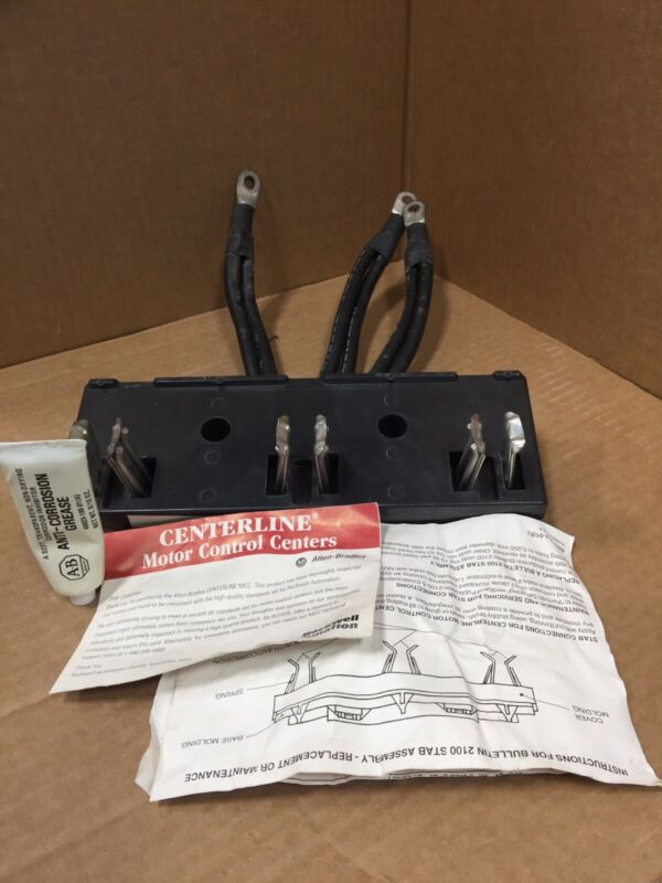 40120-410-35 ALLEN BRADLEY  ASSEMBLY 3 CONDUCTORS 4AWG FREE 2 DAY AIR SHIPPING