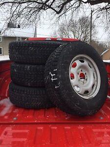 Firestone Winterforce tires