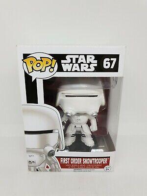 Funko Pop Vinyl Star Wars First Order Snowtrooper 67 force awakens