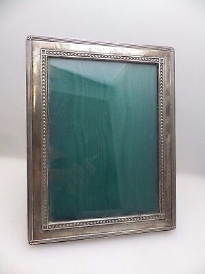 """Harrods Hallmarked Sterling Silver Photo Frame - for 5 x 7"""" Photo"""