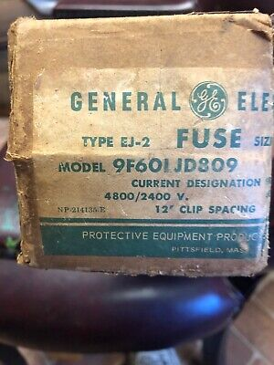 General Electric Fuse 9f60ljd809 New